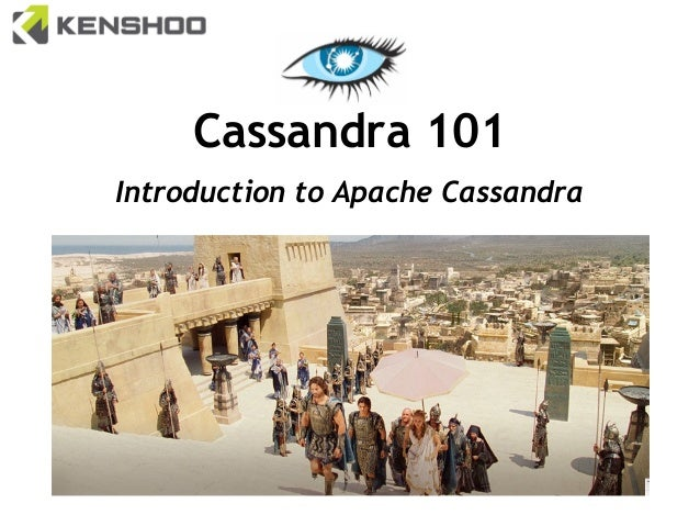 Cassandra 101 Introduction to Apache Cassandra