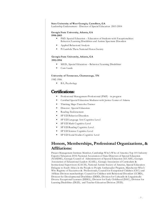 behavior specialist resume