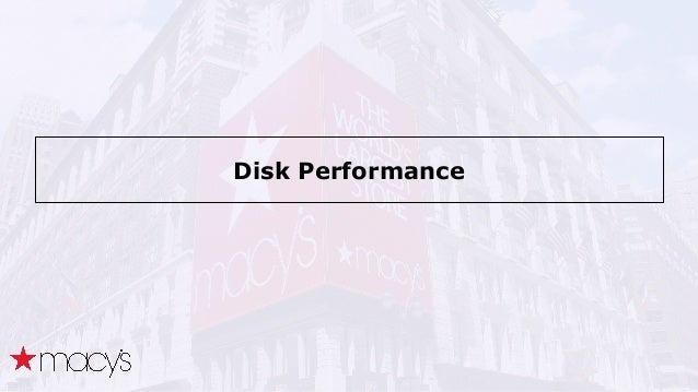 Disk Performance