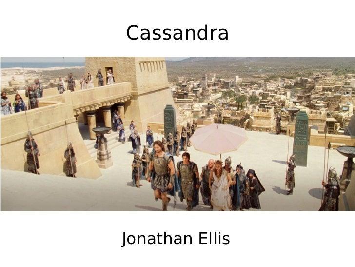 Cassandra     Jonathan Ellis