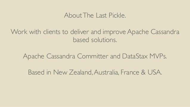 Cassandra SF Meetup - CQL Performance With Apache Cassandra 3.X Slide 2