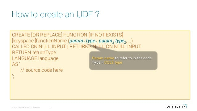 Cassandra udf and materialized views for How to materialize