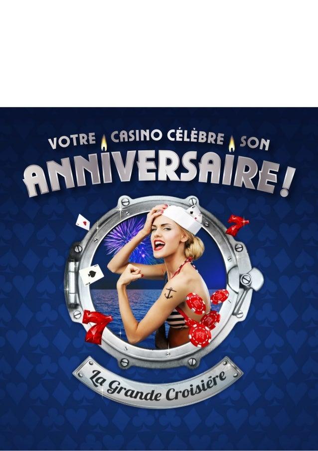N°8 : SeptembreàNovembre 2013 casino NewsToute l'actualité du Casino Barrière de Cassis
