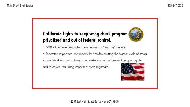 Smog Check History >> A Short History Of The California Smog Check Program