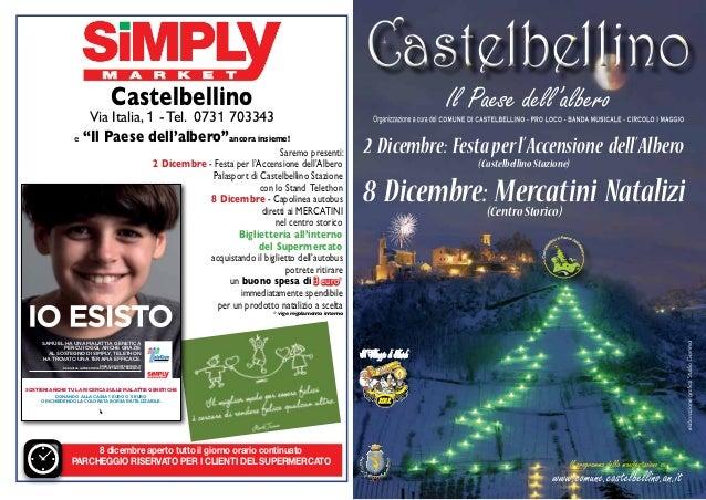 """Castelbellino                             Via Italia, 1 - Tel. 0731 703343                   e     """"Il Paese dell'albero""""a..."""