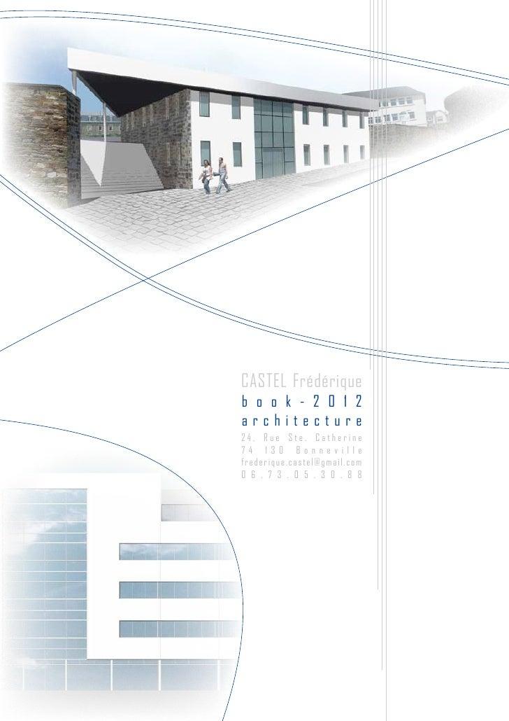 page de garde book architecte