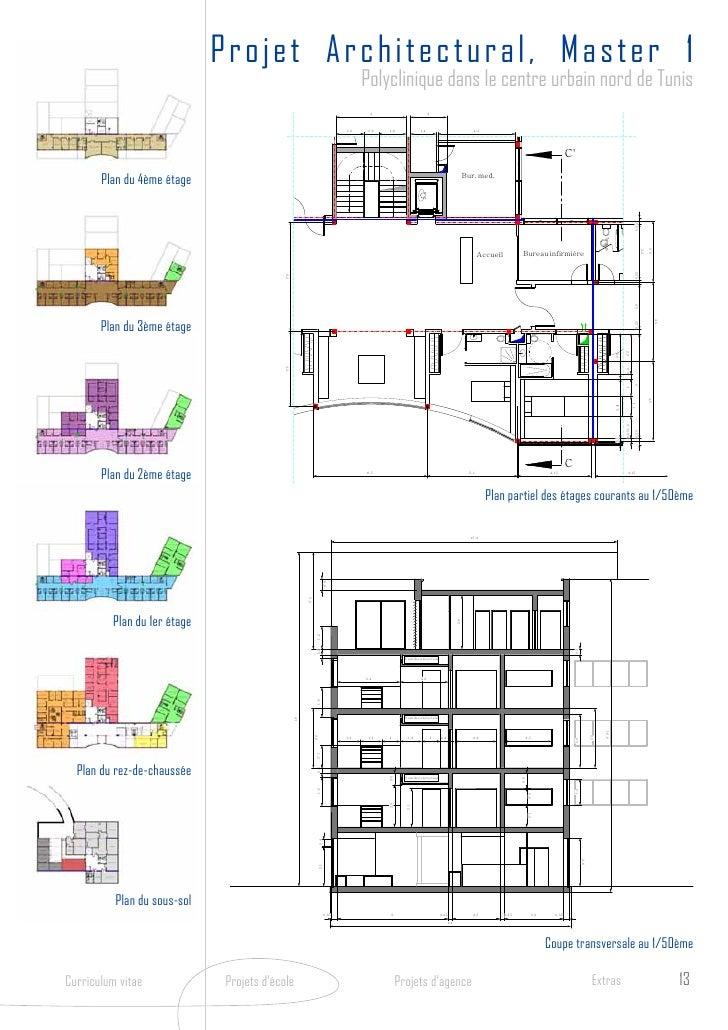 Book architecture for Projet de plan