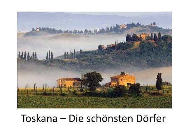 Toskana – Die schönsten Dörfer