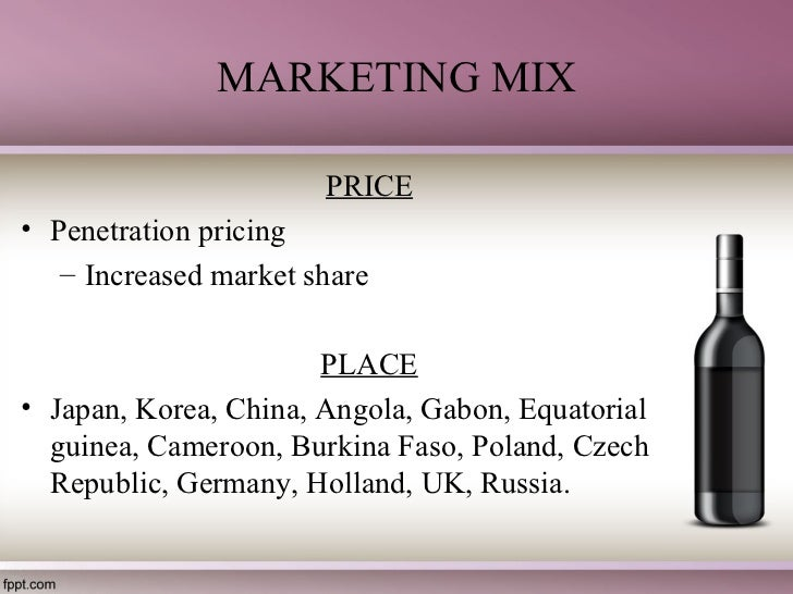 wine marketing mix How to create a marketing mix that will get your business off to a flying start.