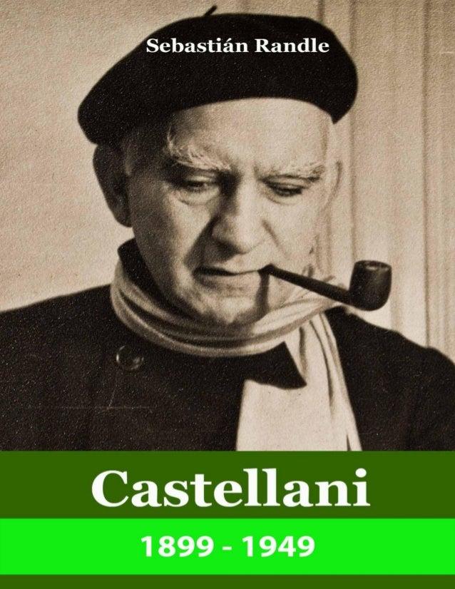 SebastiánRandle Castellani 1899-1949 EditorialVórtice BuenosAires