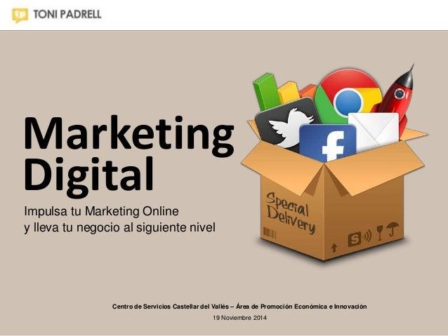 Marketing  Digital  Impulsa tu Marketing Online  y lleva tu negocio al siguiente nivel  Centro de Servicios Castellar del ...
