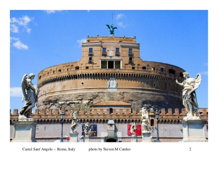 Castel Sant'Angelo -- Rome, Italy   photo by Steven M Cantler   2