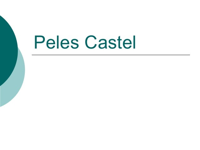 Peles Castel