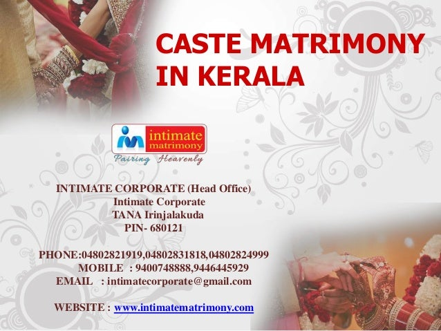 Caste matrimony in kerala