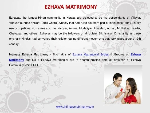 Caste matrimony in kerala