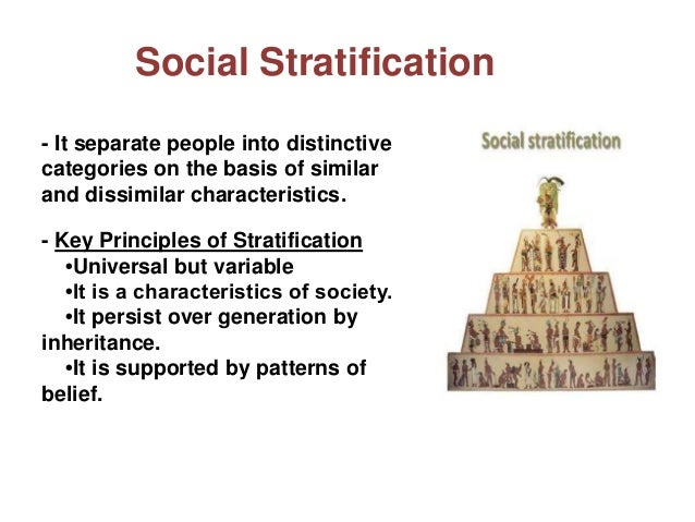 "social stratification it is inevitable Much has been said recently about the increasing class divide in singapore underscoring the urgency of the issue, education minister ong ye kung said in a parliamentary address in may: ""when groups are predominantly formed along socio-economic status– whether one is rich or poor – it is the start of stratification and that will poison society over time""."
