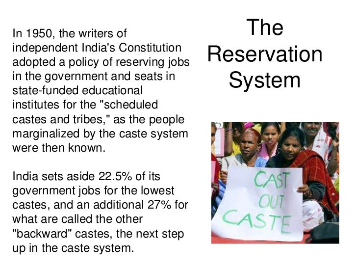 caste sytem The following sections reveal the nitty-gritty of the caste system what's the caste system broadly speaking, a caste system is a process of placing people in occupational groups.