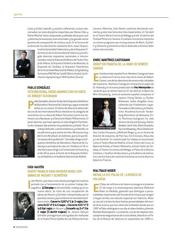 Enric Mtz-Castignani en Variaciones Goldberg Magazine
