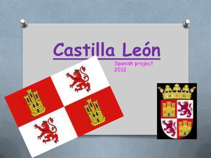 Castilla León       Spanish project       2012