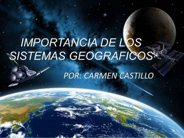 ¿Cómo surgen los Sistemas de Información Geográfica (SIG)? Debido a la necesidad de integrar el conocimiento científico a ...