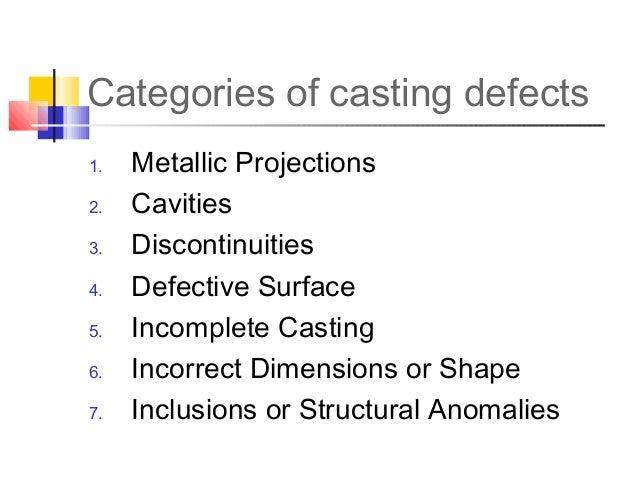 Casting Defects Pdf