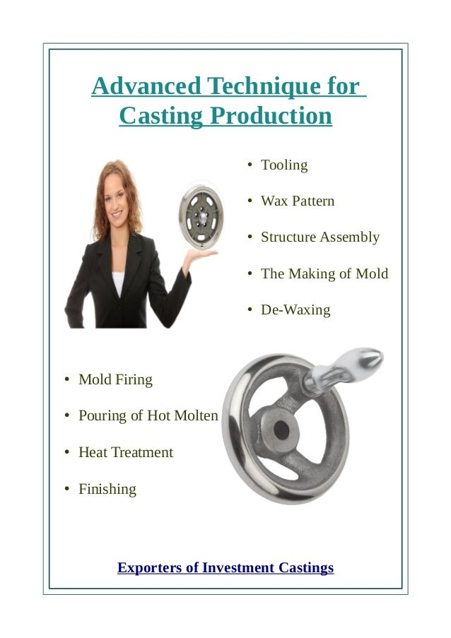 Expert Casting parts manufacturers and exporters in India Slide 3