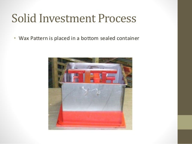 Investment Casting ppt