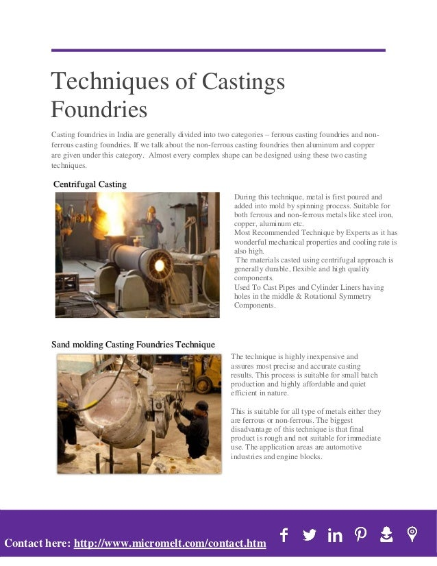 Top Fastest Growing Castings Foundries Market