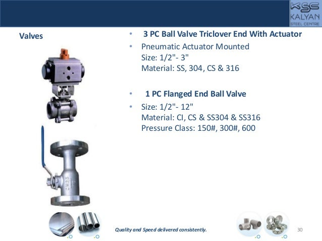 """Valves • 3 PC Ball Valve Triclover End With Actuator • Pneumatic Actuator Mounted Size: 1/2""""- 3"""" Material: SS, 304, CS & 3..."""