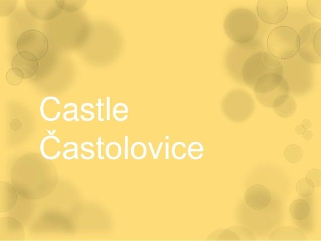 CastleČastolovice
