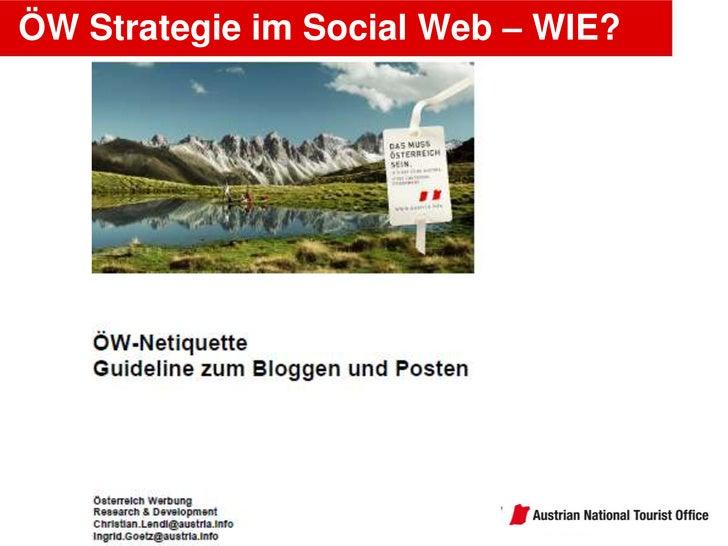 Focus on people <br />– not tools!<br />ÖW Strategie im Social Web – WIE?<br />