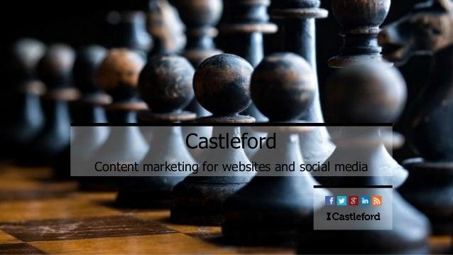 Castleford Content marketing for websites and social media