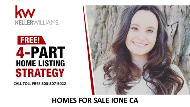 HOMES FOR SALE IONE CA
