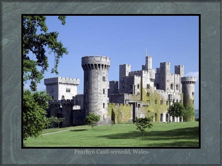 Penrhyn Castl-wynedd, Wales
