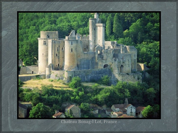 Chateau Bonag-l Lot, France
