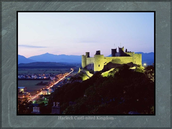 Harlech Castl-nited Kingdom