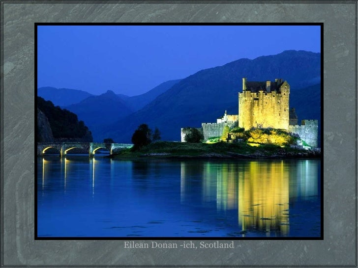 Eilean Donan -ich, Scotland