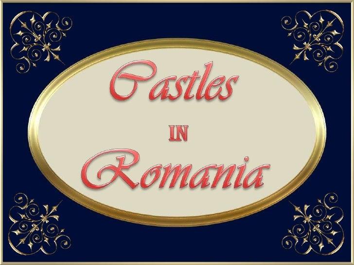 Castles<br />Romania<br />IN<br />