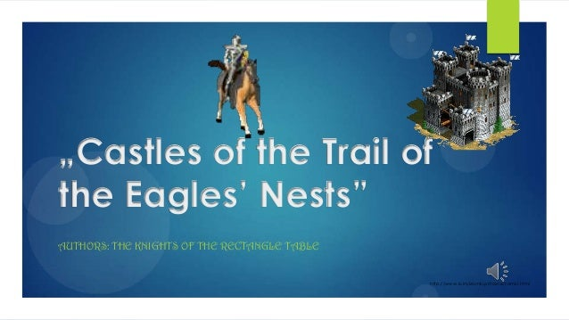 """Castles of the Trail of the Eagles' Nests"" AUTHORS: THE KNIGHTS OF THE RECTANGLE TABLE  http://www.ruinyizamki.pl/rozne/z..."