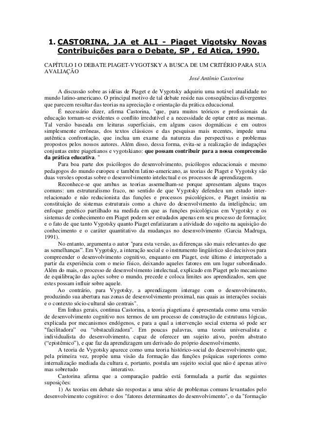 a173456569d Castorina piajet vigotsky