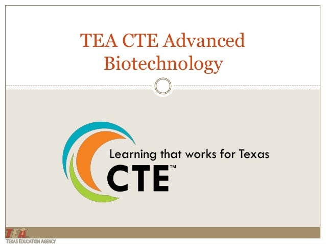 TEA CTE AdvancedBiotechnology