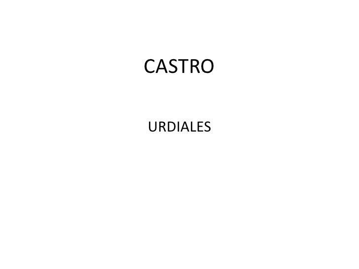 CASTRO<br />URDIALES<br />