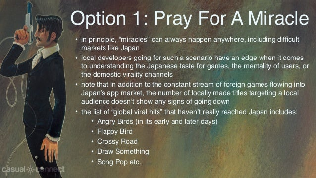 """Option 1: Pray For A Miracle • in principle, """"miracles"""" can always happen anywhere, including difficult markets like Japan..."""