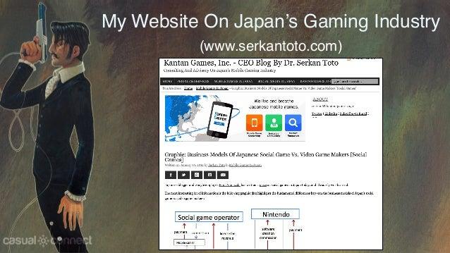My Website On Japan's Gaming Industry (www.serkantoto.com)