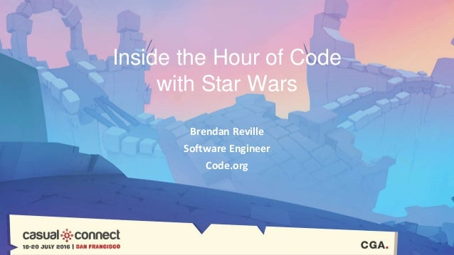 Gameplay in The Hour of Code with Star Wars | Brendan Reville