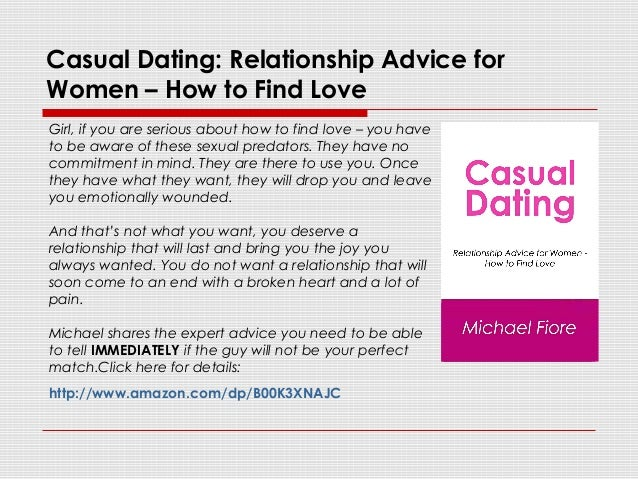 casual relationship advice