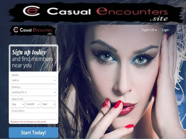 Online casual encounter