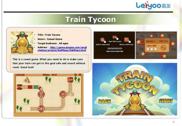 Train Tycoon                                           .                    •   Title : Train Tycoon                    • ...