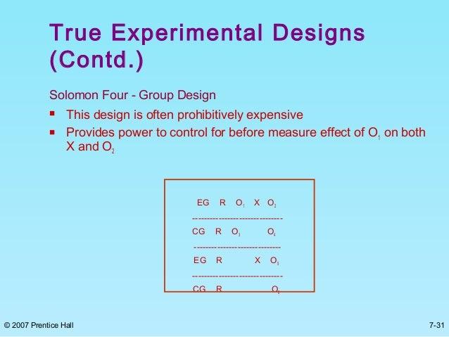 Casual research design