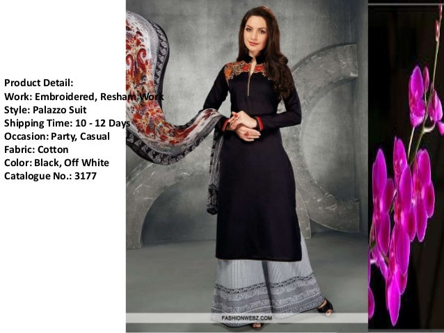 Casual salwar suits online india - fashionwebz.com